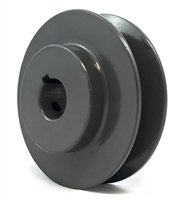 "AK30 5/8"" Bore Cast Iron Pulley for V-belt  size 3L, 4L OD 3"" One Groove"