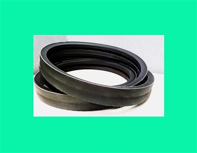 "Power Drive B95/2 banded Belt B95/02 Banded V-Belt 21/32 x 98"" in long OC 2 Bands 2B/95"