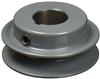 "BK40-3/4"" Inch Bore Solid Pulley with 4""  OD for V-belts cast iron size 4L, 5L"