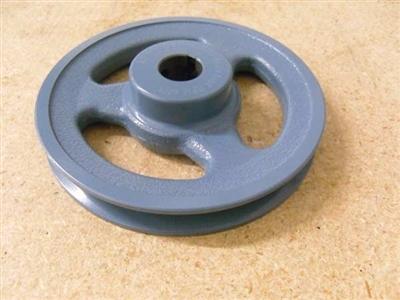 "BK45-1/2"" Inch Bore Solid Pulley with 4.5""  OD for V-belts cast iron size 4L, 5L"