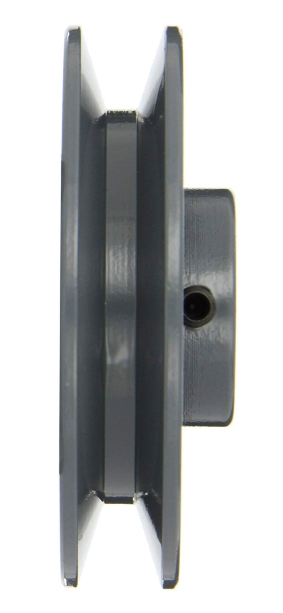 """BK80-1/"""" Inch Bore Solid Sheave Pulley with OD 8/"""" V-belts cast iron size 5L,4L"""