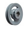 "BK80-7/8"" Inch Bore Solid Pulley with  OD 8"" for V-belts cast iron size 4L, 5L"