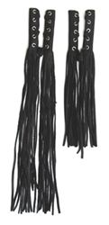 Plain Black Long Fringe