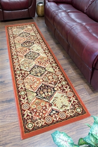 Cotswold Traditional Runner Rug - 9011