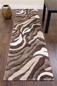 Primo-Runner-Rug-Brown/Beige- 3862