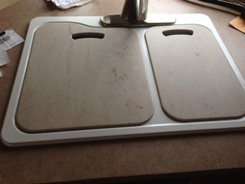 Lisa Z   Pair of RV Sink Cutting Boards