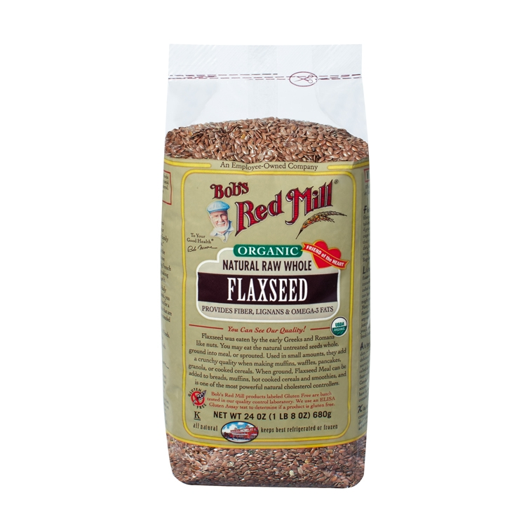 Bob S Red Mill Organic Natural Raw Whole Flax