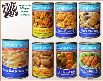 Companion - Canned Asian Vegetarian Combo