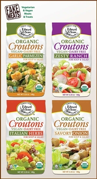 Edward and Son's - Organic Vegan Croutons - Combo Pack