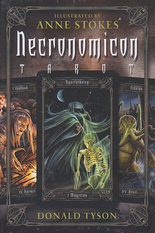 NECRONOMICON TAROT KIT