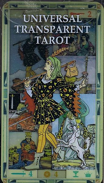 Tarot Universal Dali: UNIVERSALT TRANSPARENT TAROT