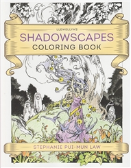 SHADOWSCAPES COLORING BOOK