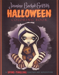 JASMINE BECKET GRIFFITH HALLOWEEN COLORING BOOK