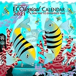 2021 ECOLOGICAL CALENDAR WALL