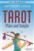 TAROT PLAIN AND SIMPLE BOOK FOR ROBIN WOOD TAROT