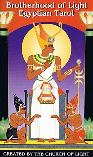 EGYPTIAN TAROT CARDS BROTHERHOOD OF LIGHT