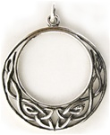 CELTIC MOON PENDANT