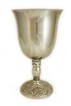 PLAIN STAINLESS-STEEL CHALICE