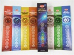 Chakra Incense Sticks Boxed 7 Pack (HEM Brand)