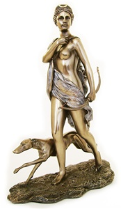 DIANA THE HUNTRESS STATUE