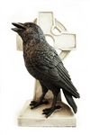 CELTIC CROSS RAVEN