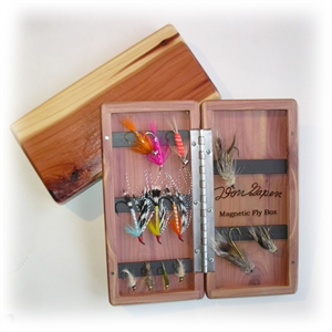 Gapen Magnetic Cedar Fly Box