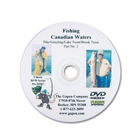 Gapen DVD - Canadian Waters Northern Pike & Trout