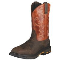 Ariat 10006961 Workhog Square Toe Steel Toe Boot