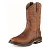 Ariat 10007044 WorkHog Toast Premium USA Square Toe Steel Toe Boot