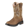 Ariat 10008634 Women's Tracey Dusted Brown Pull-On Composite Toe Boot
