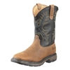 Ariat 10010133 Workhog Square Toe H2O Steel Toe Aged Bark Boot