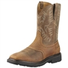 Ariat 10010134 Sierra Square Toe Steel Toe Aged Bark Boot