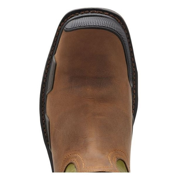 8610f5824ff Ariat 10011921 Overdrive Toast Square Toe Composite Toe Boot