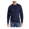 Ariat 10012256 Men's Navy Long Sleeve Flame Resistant Crew Shirt