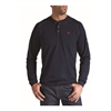 Ariat 10013518 Men's Navy Long Sleeve Flame Resistant Henley Shirt