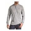 Ariat 10013519 Men's Silver Fox Long Sleeve Flame Resistant Henley Shirt