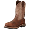 Ariat 10017416 Brown Croco Print WorkHog Composite Toe Boot