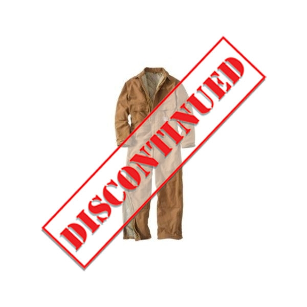 3e66d8fde109 Carhartt 101620 Men s Flame-Resistant Quilt-Lined Duck Coverall
