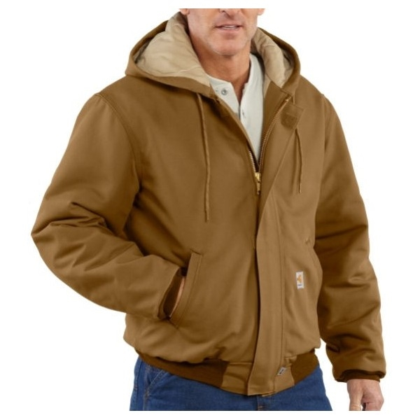 863633966f Carhartt 101621 Flame-Resistant Quilt Lined Duck Active Jacket