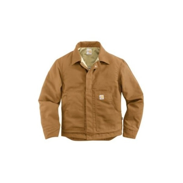 e77cc06af65e Carhartt 101624 Flame-Resistant Midweight Canvas Dearborn Jacket