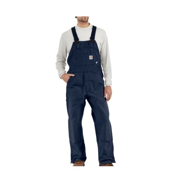 7e5eaaaf3e05 Carhartt 101627 Flame-Resistant Unlined Duck Bib Overall