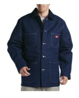 Dickies 3494 Indigo Blue Blanket Lined Denim Chore Coat
