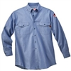 Walls FR 56388 5.5 Oz Chambray Flame Resistant Industrial Work Shirt