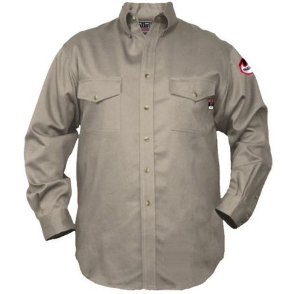 39e1d274d249 Walls 56390 7 Oz Flame Resistant Industrial Work Shirt