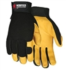 MCR 901 Fasguard Premium Deerskin Palm And Fingers Glove