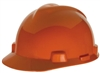 MSA 463945 Orange V-Gard Non-Slotted Cap With Staz-On Suspension