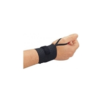 Allegro 7211-03 Black Rist-Rap With Thumb Loop