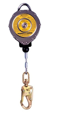 MSA 506204 Dyna-Lock Self Retracting Lanyard With 50' Galvanized Wire Rope