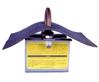 "MSA 10016468 2"" x 4"" Permanent Roof Anchor"