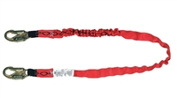MSA 10023936 Single Leg CSA Diamond Shock-Absorbing Lanyard - HL2000 Harness Connection HL2000 Anchorage Connection